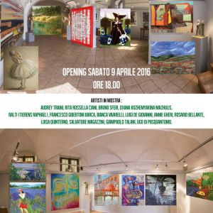 Exhibition In Group Florence Galleria Mentana 2016