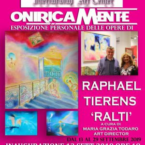 Personal Exhibition QueenArtStudio ( Padova : region Venise ) 2019